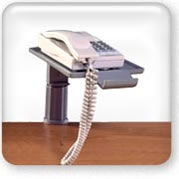 Click to view clamp telephone swivel stand