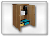 Click to view cabinet with pullout cradle