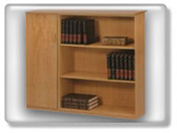 Click to view 3 shelfs open bookcase