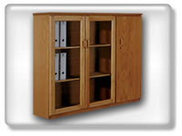 Click to view combination bookcase