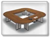 Click to view Conferenza conference table
