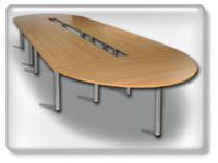 Click to view Lighthouse Oval conference table conference table