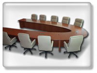 Click to view Rosette conference table
