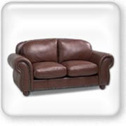 Click to view Wellington leather couch