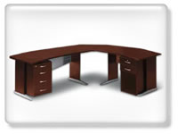 Click to view swing executive desk sets