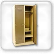 Click to view Steel lockers
